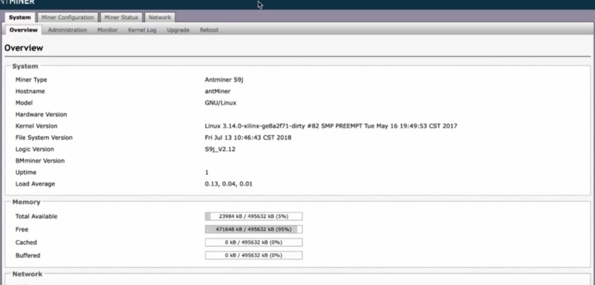 Asicboost Firmware Bitmain Antminer Upgrade (serie S9 Y T9+)