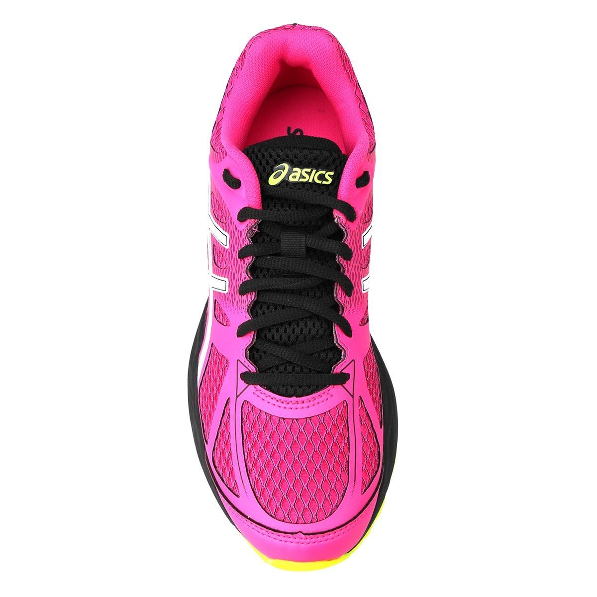 Carregando zoom... tênis asics gel spree feminino - pink e branco - original 3086ca3f12668