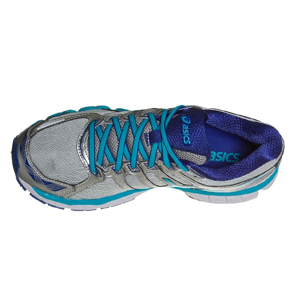 e689deadefa Carregando zoom... tênis asics gel evate 3 feminino - cinza claro e azul