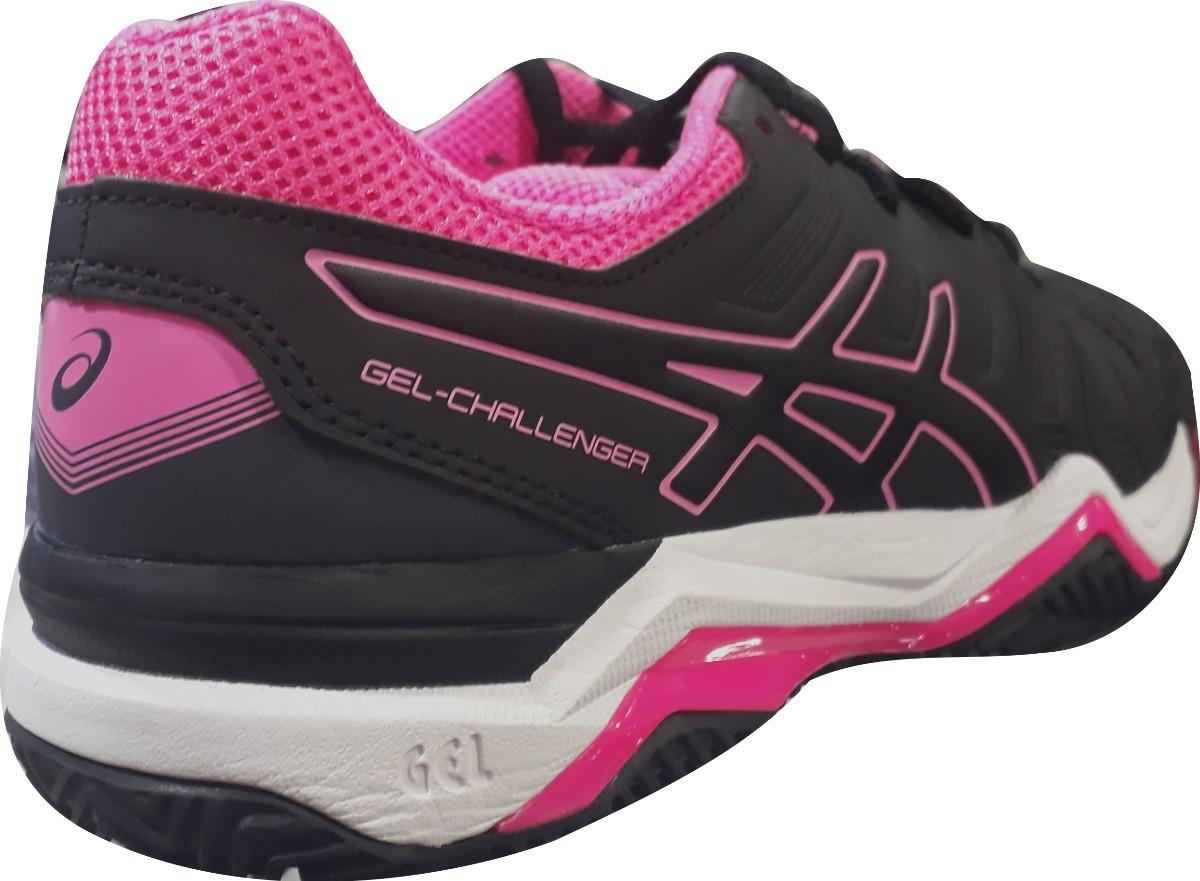 38b5029dc25 Carregando zoom... tênis asics gel challenger 11 clay feminino - preto e  rosa