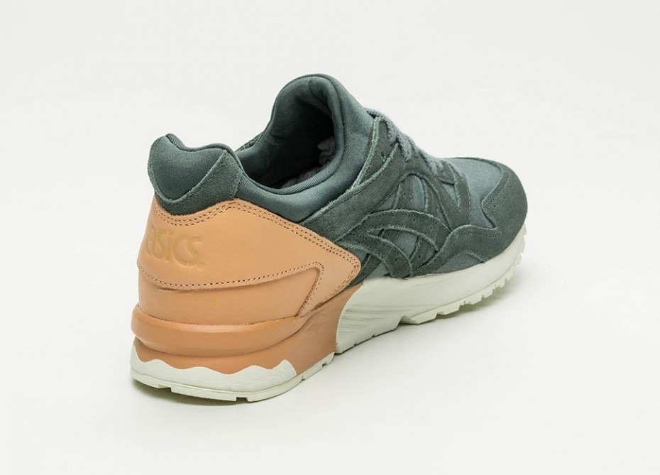 check out b5bd5 070a5 Asics Gel Lyte V Dark Forest Casual Academia Sneakers Retro