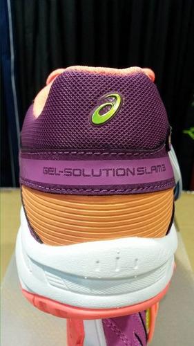 cf40dad07f Asics Gel Solution Slam 3 Tenis. -   2.375