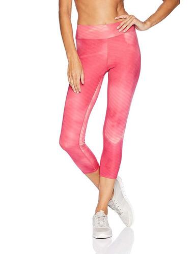 asics graphic 3/4 tight leggings  multicolor dama xl