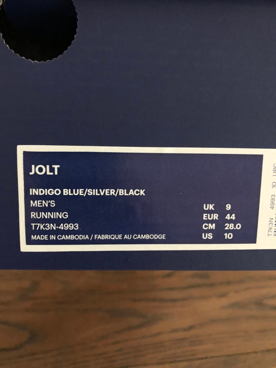 36e6506930d Cargando zoom... oferta zapatillas asics hombre jolt nuevas talla 10 1 2