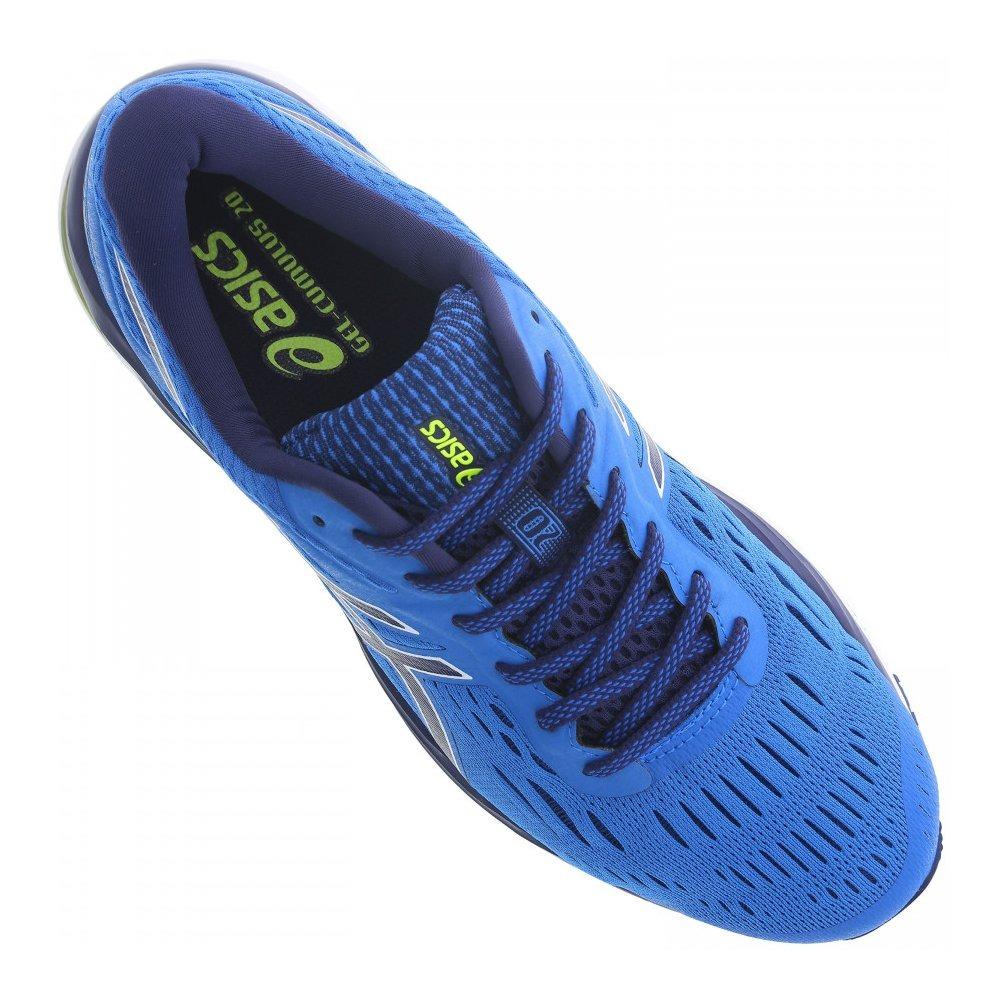 9fc065810 Carregando zoom... tênis asics gel cumulus 20 masculino - azul ...