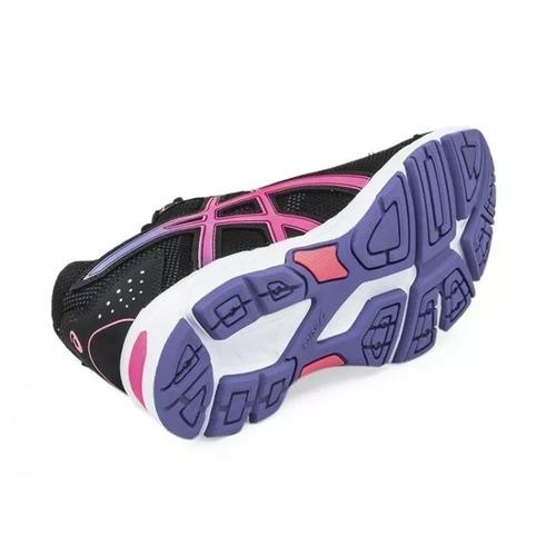 asics zapatilla gel impression mujer 9 a running negro rosa