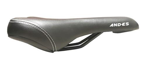asiento bicicleta andes - con gel y depresion central