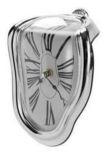 asiento creativo reloj giratorio reloj de mesa de fusión áng