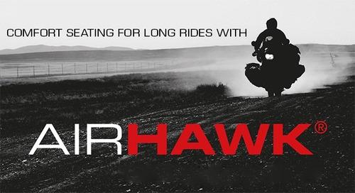 asiento de aire air hawk para todo tipo de motos
