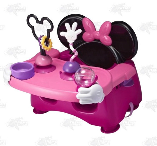 asiento de alimentación y actividad para bebes minnie xtrm c