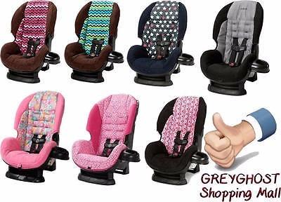 asiento de bebe para auto cosco americano negro con rosa