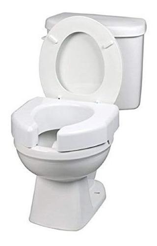asiento de inodoro elevado delantero abierto básico de ma