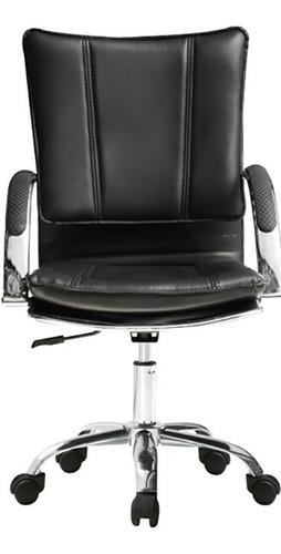 asiento de oficina silla escritorio negro divino
