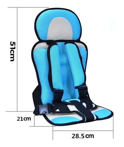 asiento de seguridad para bebé coche silla niño portátil