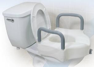 asiento elevador de inodoro ideal para  el adulto mayor