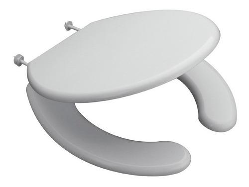 asiento inodoro espacio ferrum con tapa para discapacitados