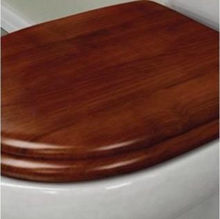 asiento madera cedro hje/metal tapa inodoro para bari ferrum