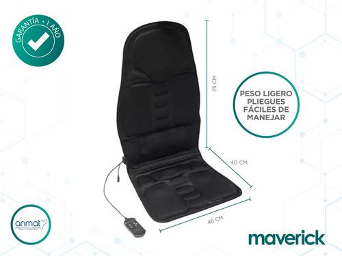 asiento masajeador calor espalda muslos maverick