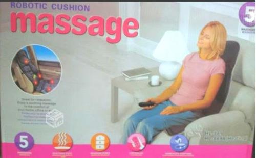 asiento masajeador portátil para auto y casa