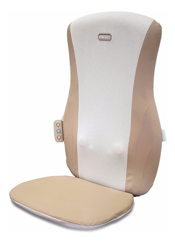 asiento masajeador shiatsu con calor homedics sbm-185h