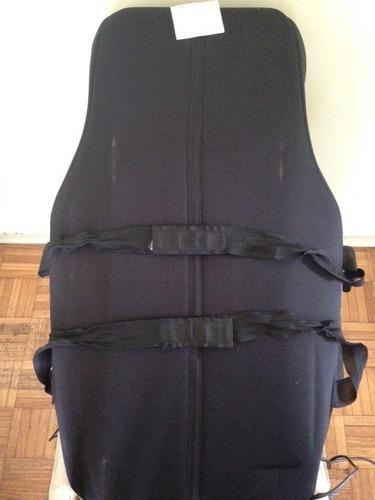 asiento masajeador shiatsu full modelo mc670 premium gamma