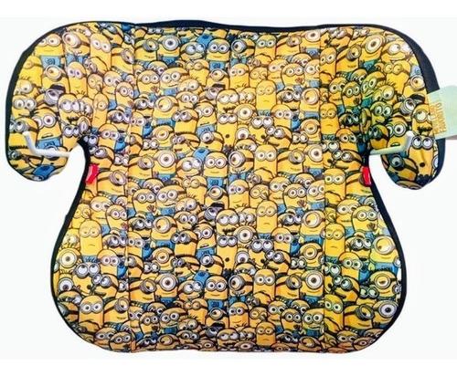 asiento niño  booster minions + regalo cortina disney