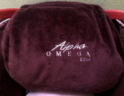 asiento para auto - alpha omega elite deluxe - 3 in 1