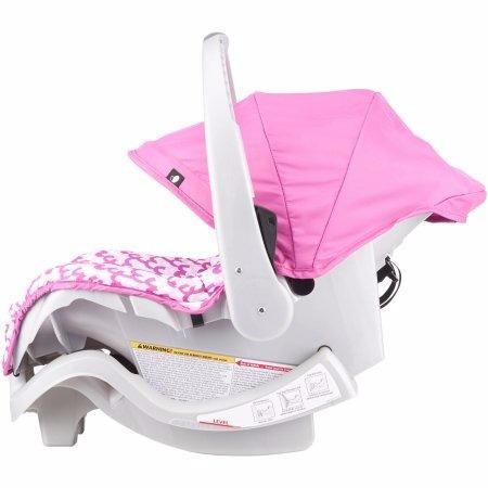asiento para bebe para auto evenflo  nurture para niña