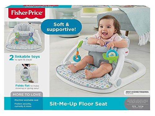 asiento para el piso sit-me-up de fisher-price
