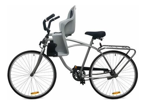 asiento para niños p/ bicicleta delantera maxxum de lujo