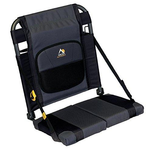 asiento para piragüismo gci outdoor sitbacker, negro