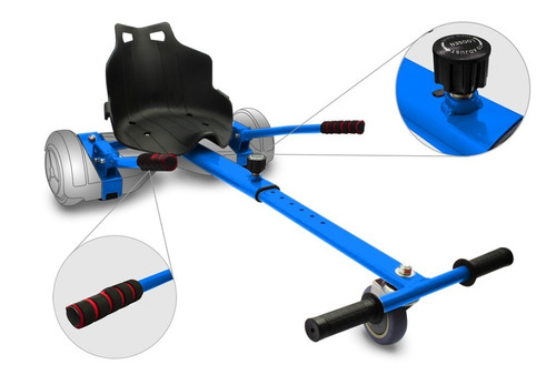 asiento para scooter eléctrico hoverkart | intense devices