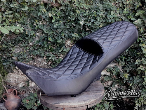 asiento perzonalizado tapizado cafe racer/tracker/bobberduca