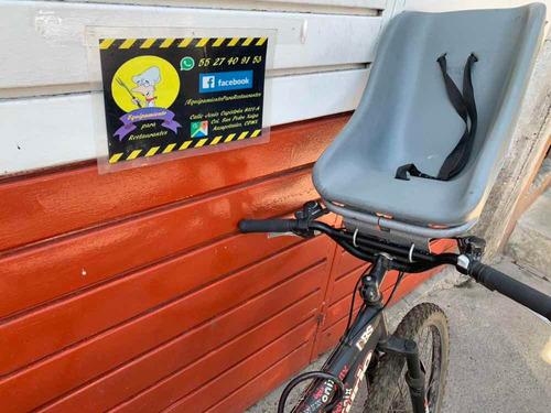 asiento portabebé para bicicleta
