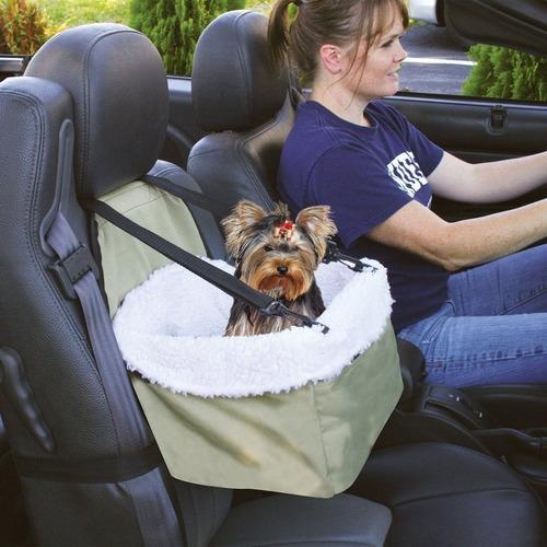 asiento portatil auto para gatos y perros