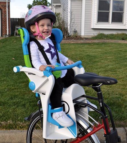 asiento sillita infantil paseo bicicleta kettler flipper