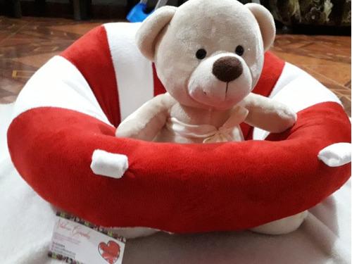 asiento sofá almohada para bebé. aprender a sentarse