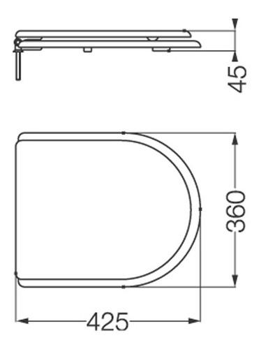 asiento tapa de inodoro ferrum murano madera con herrajes metalicos bronce cromados original