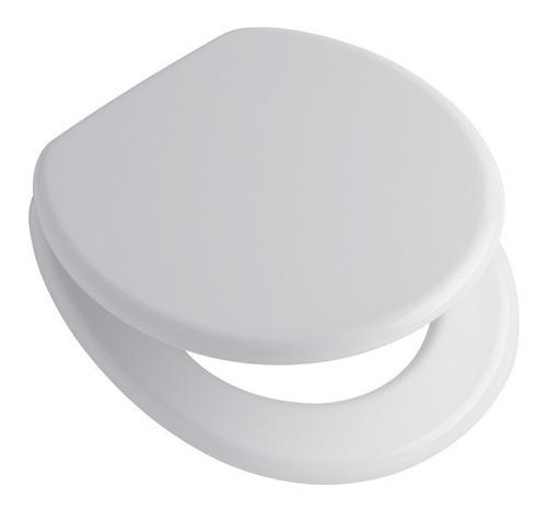 asiento tapa inodoro capea italiana original blanco pvc