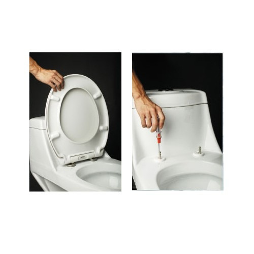 asiento tapa inodoro diseño higienico desmontable reforzada