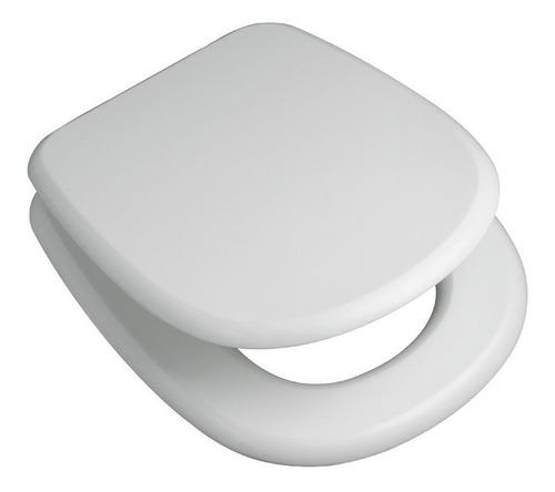 asiento tapa inodoro ferrum adriatica con herrajes metálicos