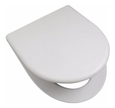 asiento tapa inodoro pilar madera laqueada herrajes metalico