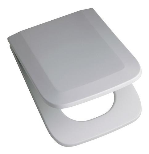 asiento tapa inodoro trento ferrum con herrajes metalicos