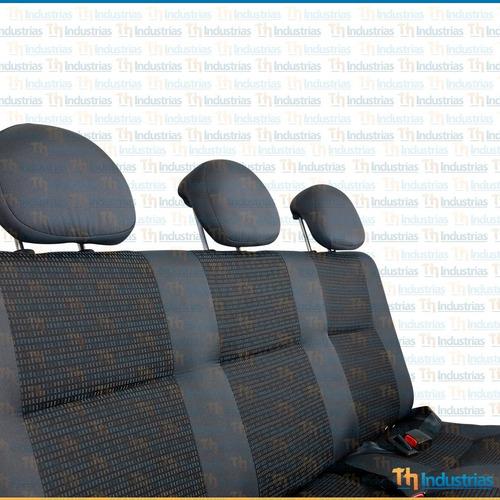 asiento triple para partner qubo fiorino kangoo berlingo