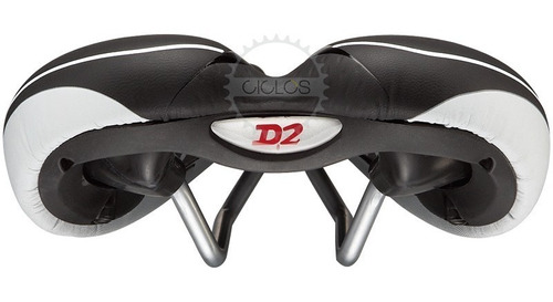 asiento velo plush mtb sport d2 prostático c/ gel - ciclos