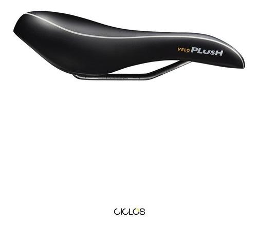 asiento velo plush mtb-sport d2 prostático de gel - ciclos