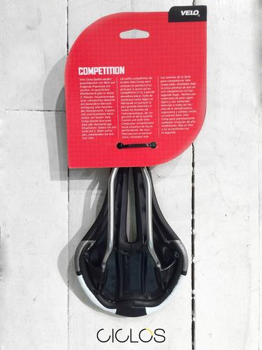 asiento velo race-competición rieles de cromo prostatico!