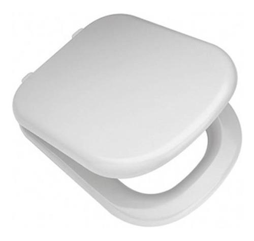 asiento y tapa para inodoro bari ferrum original mdf h nylon