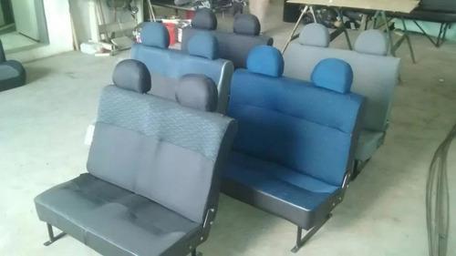 asientos 3ra fila kangoo partner berlingo cubo doblo etc