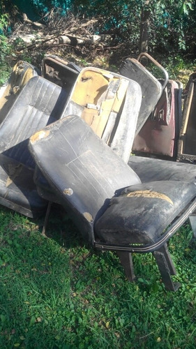 asientos dobles y simples de mercedes benz 1114